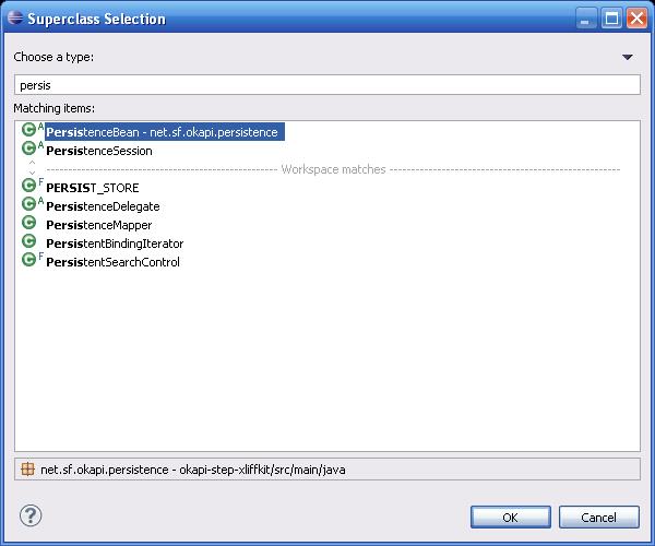 Okapi Java Persistence API - Okapi Framework